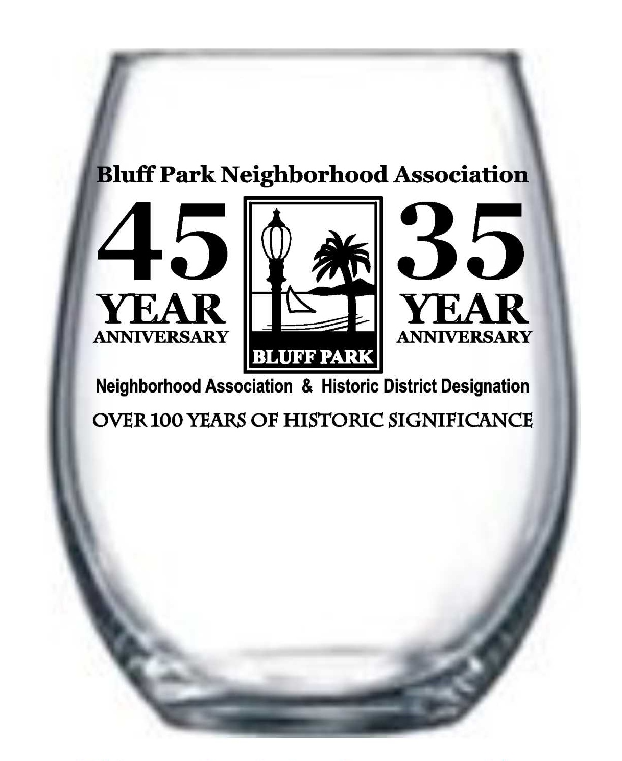 Wine Glasses for BPNA Anniversary